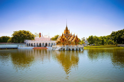 Aisawanthipphaya-At Pavilion is located in Bang Pa In Royal Palace, Phra Nakhon Si Ayutthaya