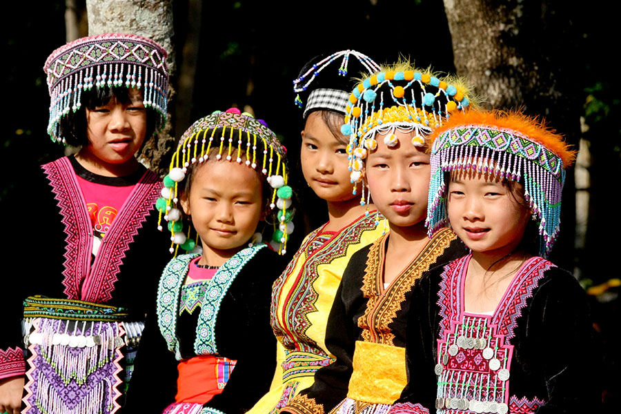 Hilltribe People in Chiang Rai